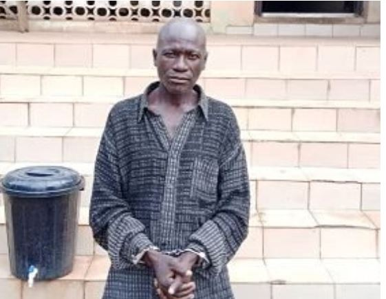 59-year-old pastor arrested for raping a 10-year-old girl in Ogun (photo) 1