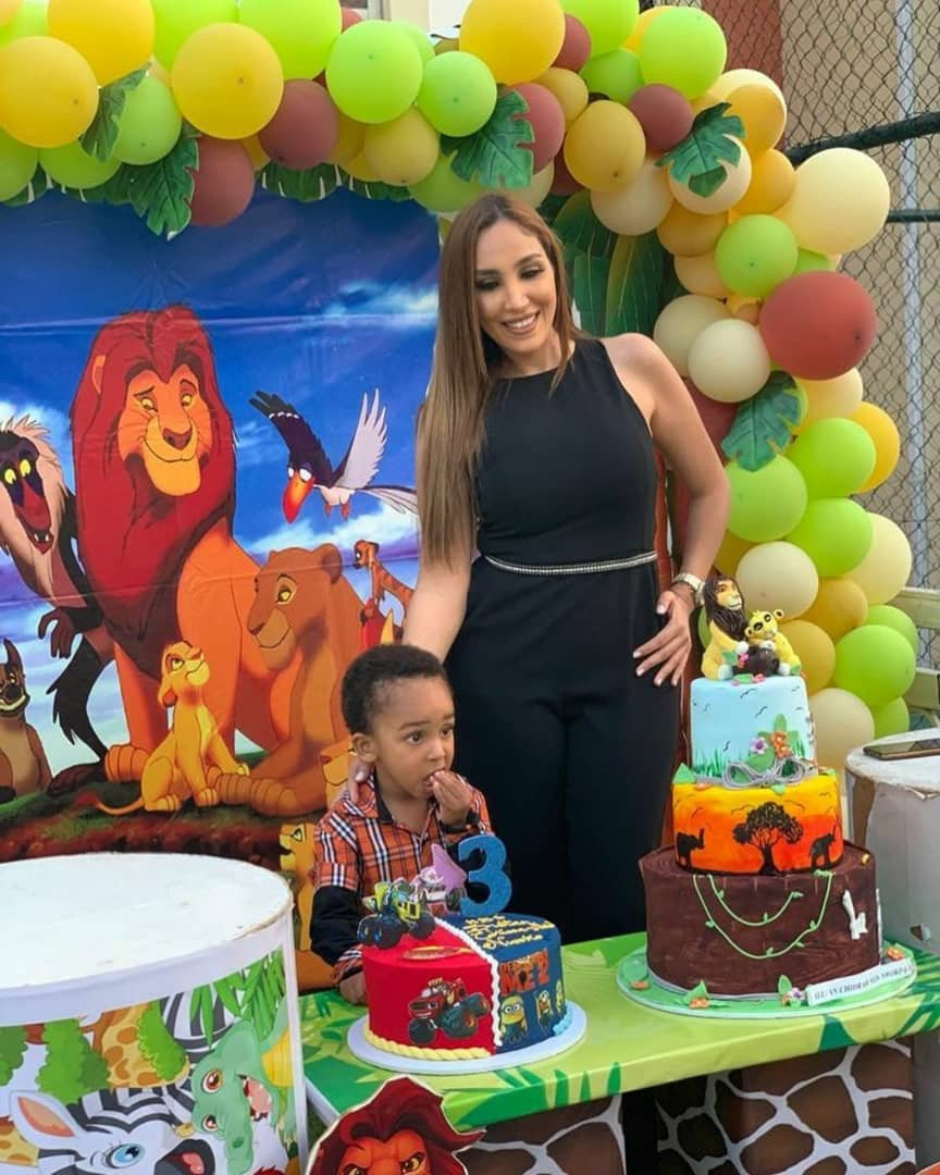 Ned Nwoko and his Moroccan Wife, Laila celebrate their son as he turns three (Photos) 9