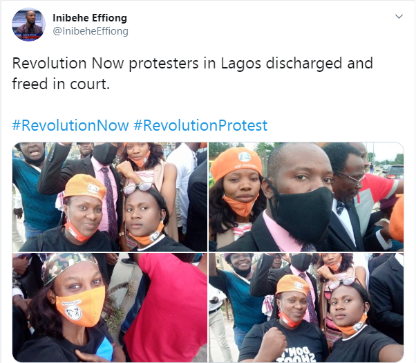 #RevolutionNow: Agba Jalingo, others discharged from police custody by Lagos Court 4