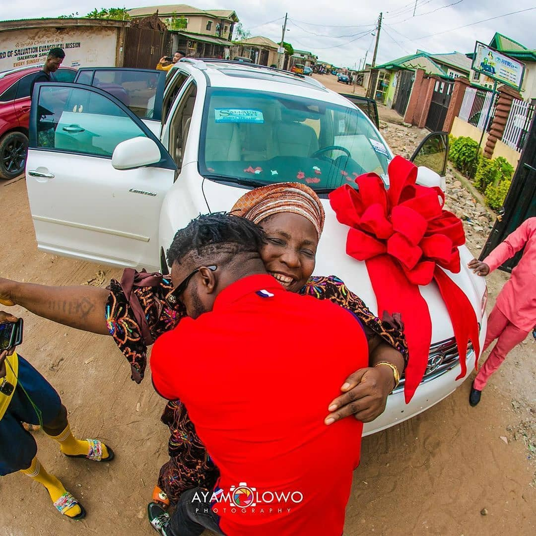 DJ Kaywise buys his Mom a Car on her birthday 9