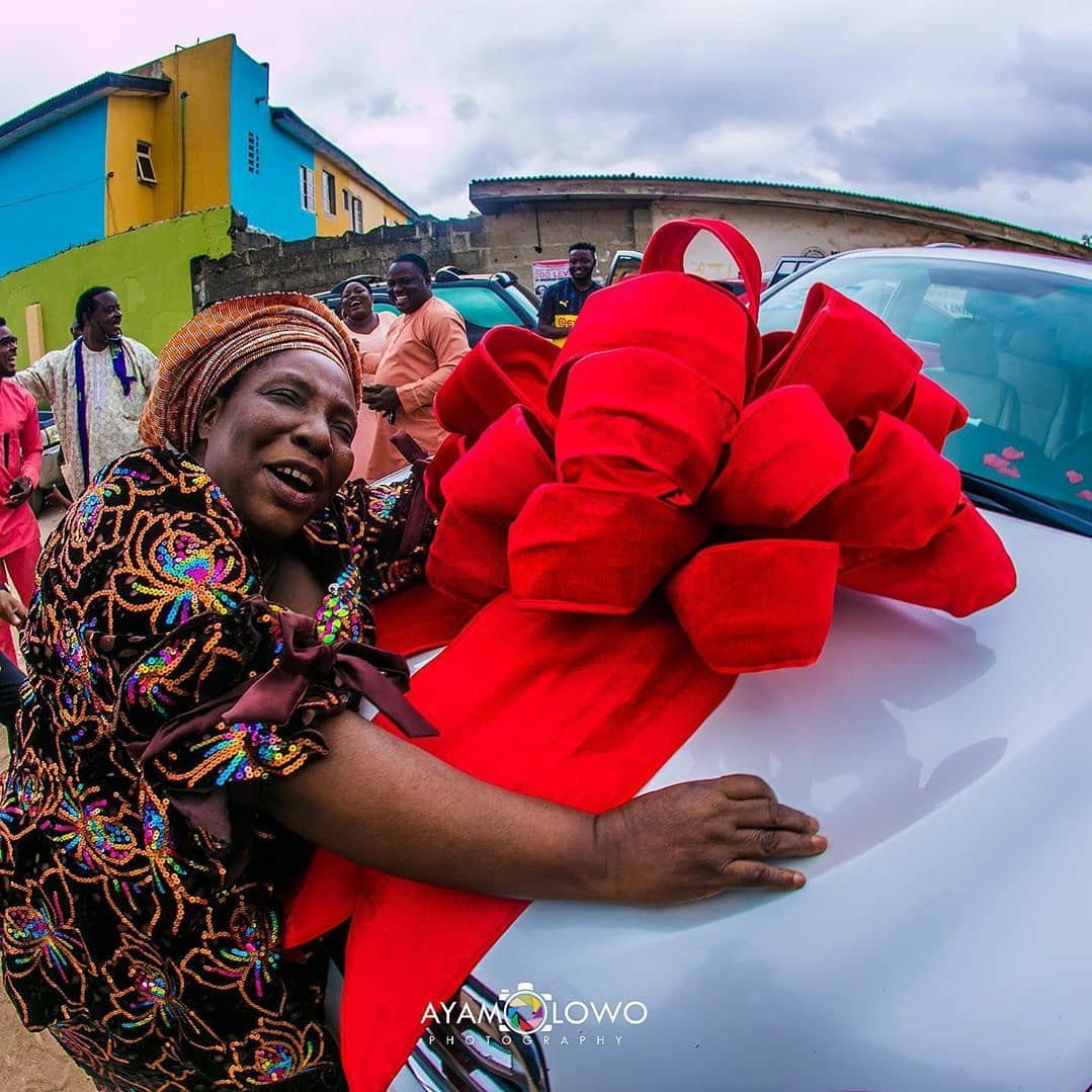 DJ Kaywise buys his Mom a Car on her birthday 10