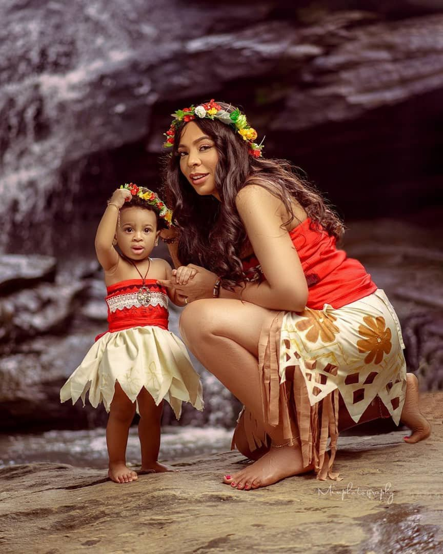Tboss celebrates her daughter as she turns one today 6