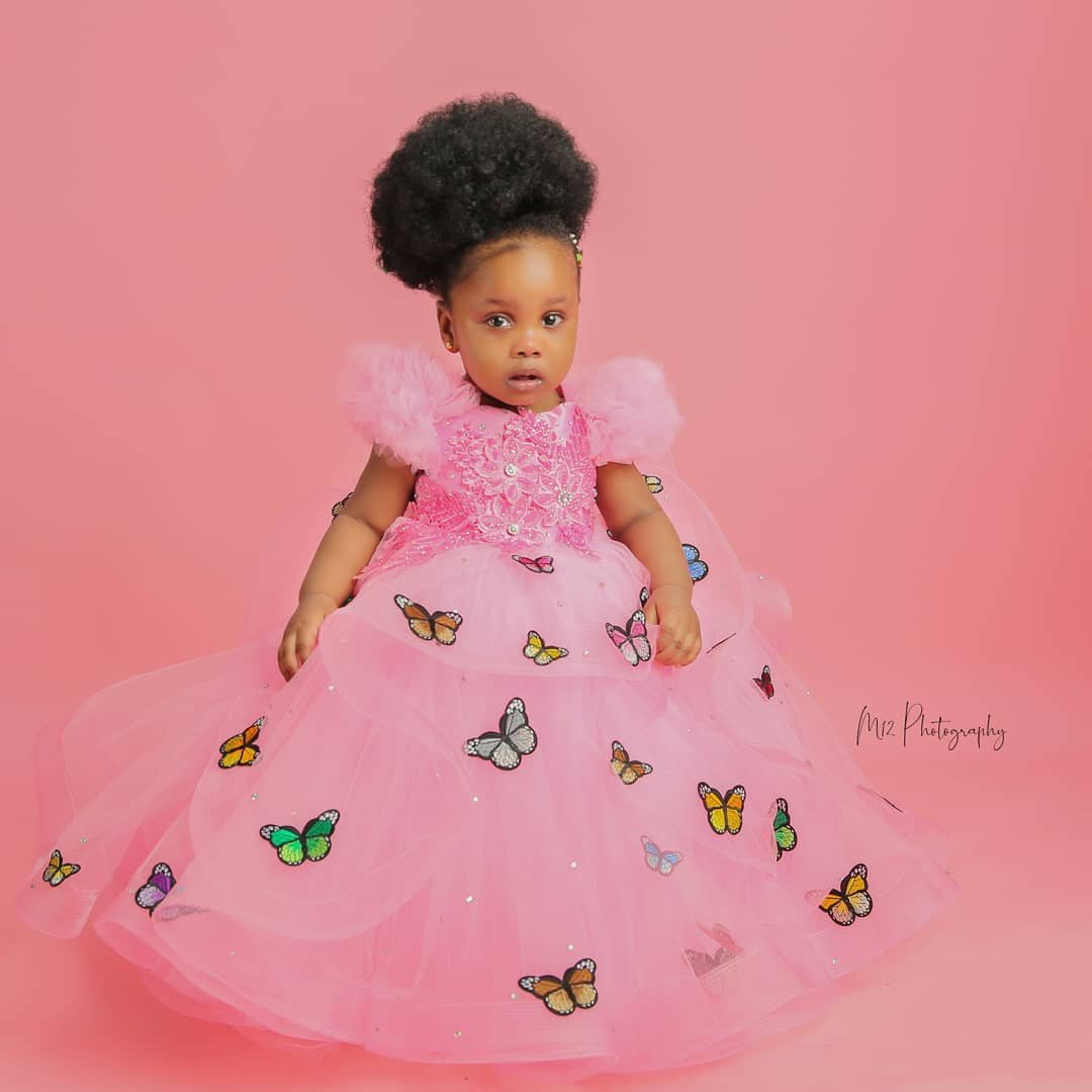 Actress, Ronke Odusanya share lovely photos as her daughter turns one (Photos) 10