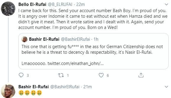 Bashir El-rufai blast Nigerian Novelist, Elnathan John for calling his father a dangerous individual 7