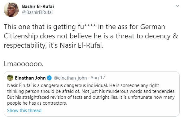 Bashir El-rufai blast Nigerian Novelist, Elnathan John for calling his father a dangerous individual 6