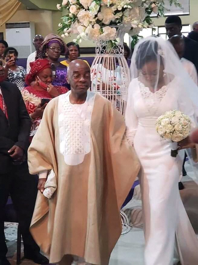 Bishop Oyedepo's daughter gets married (Photos) 11