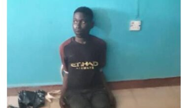Photo of Ibadan suspected serial killer has been re-arrested (photo)