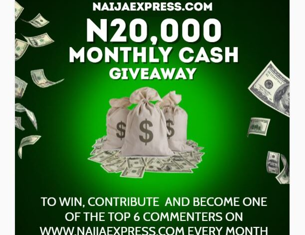 August Recharge Card Giveaway Update 1