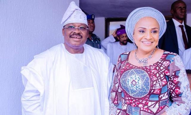 Ajimobi made Heaven, he is at peace with God - Ajimobi's Wife 1