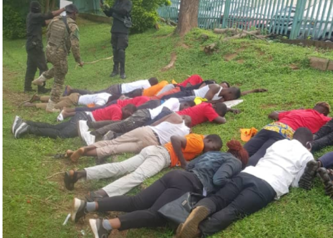 DSS arrest 40 #RevolutionNow protesters in Abuja 1