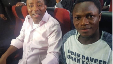 Photo of #RevolutionNow co-convener, Olawale Bakare rearrested