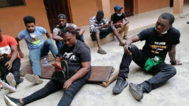 Photo of Agba Jalingo, 18 others arrested during #RevolutionNow protest in Lagos