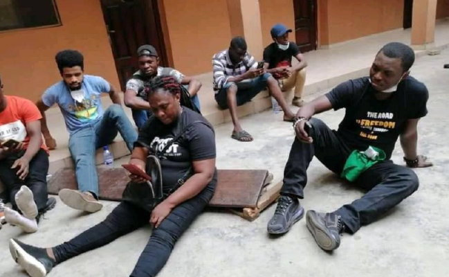 Agba Jalingo, 18 others arrested during #RevolutionNow protest in Lagos 1