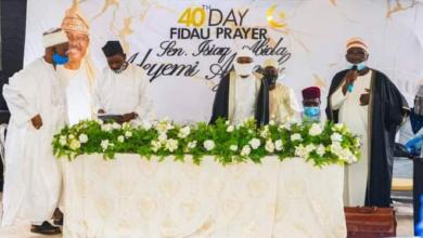 Photo of Family and Friends gather for the 40th day Fidau prayer of late Senator Ajimobi (photos)
