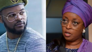 Photo of Internet fraudsters: Diezani laments loss of societal values, Falz reacts