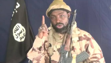 Photo of Shekau allegedly releases audio faulting the death sentence of Kano Singer over blasphemy
