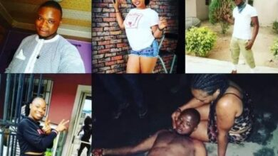 Photo of 24-yr-old woman allegedly stabs boyfriend to death over cheating in Lagos
