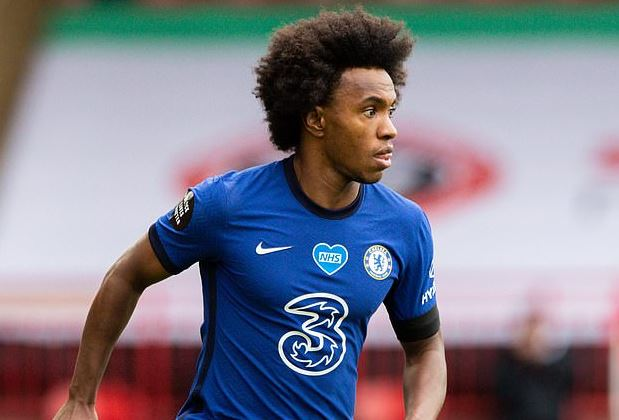 Chelsea star, Willian 'agrees to a three-year deal with Arsenal for £100,000 per week' 1