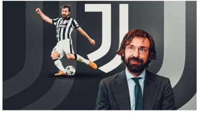 Photo of Juventus name club legend Andrea Pirlo as new coach after Maurizio Sarri sacking