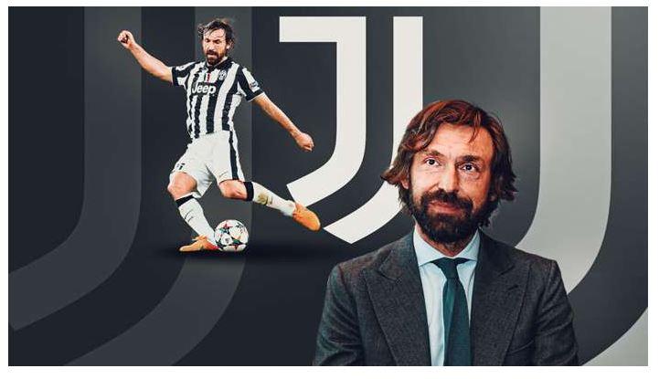 Juventus name club legend Andrea Pirlo as new coach after Maurizio Sarri sacking 1