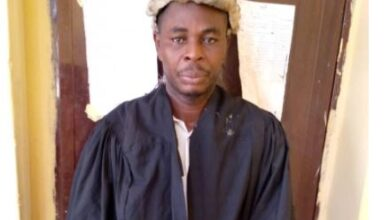 Photo of Fake lawyer bags three years imprisonment with hard labour in Ogun (photo)