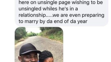 Photo of Woman exposes her fiancé on Facebook group for singles where he advertised himself as Single and looking for a relationship