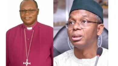 Photo of Kaduna Govt files criminal charges against Anglican Bishop of Zaria, Abiodun Ogunyemi for criticizing Gov El-Rufai