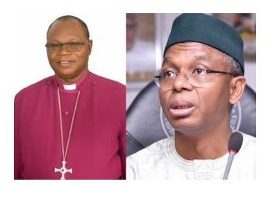Kaduna Govt files criminal charges against Anglican Bishop of Zaria, Abiodun Ogunyemi for criticizing Gov El-Rufai 1