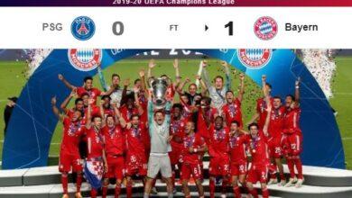 Photo of Bayern Munich beat Paris Saint-Germain to win Champions League