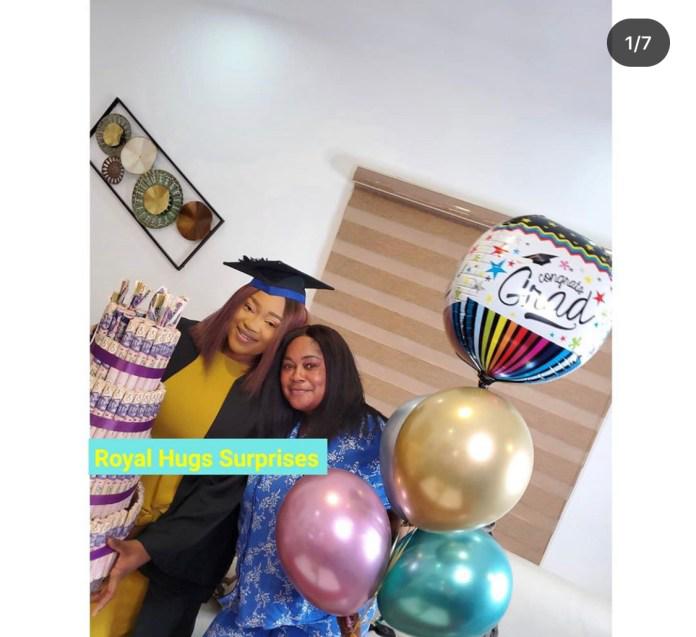 Actress, Sikirat Sindodo celebrates Daughter as she graduates 4