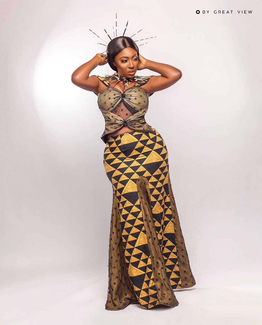 Yvonne Jegede recreates look in Tuface Idibia's African Queen as she celebrates 16 years in entertainment industry (photos) 14