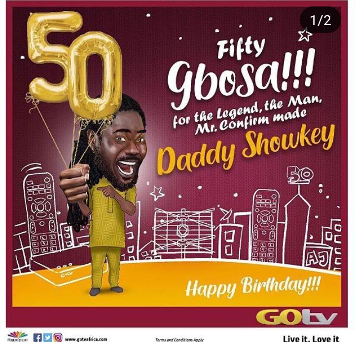 Daddy Showkey turns 50 today 4