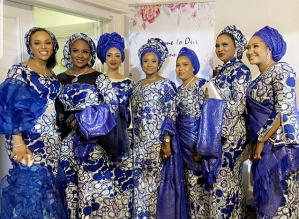 Photos from President Buhari's Daughter, Hanan and Turad Sha'aban's Pre-wedding Event 10