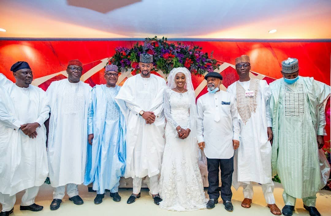 Photos from Hanan Buhari and Turad Sha'aban's wedding 26