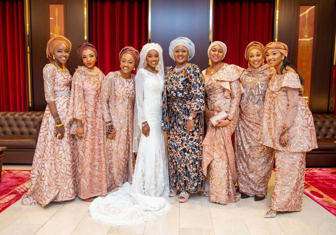 Photos from Hanan Buhari and Turad Sha'aban's wedding 27
