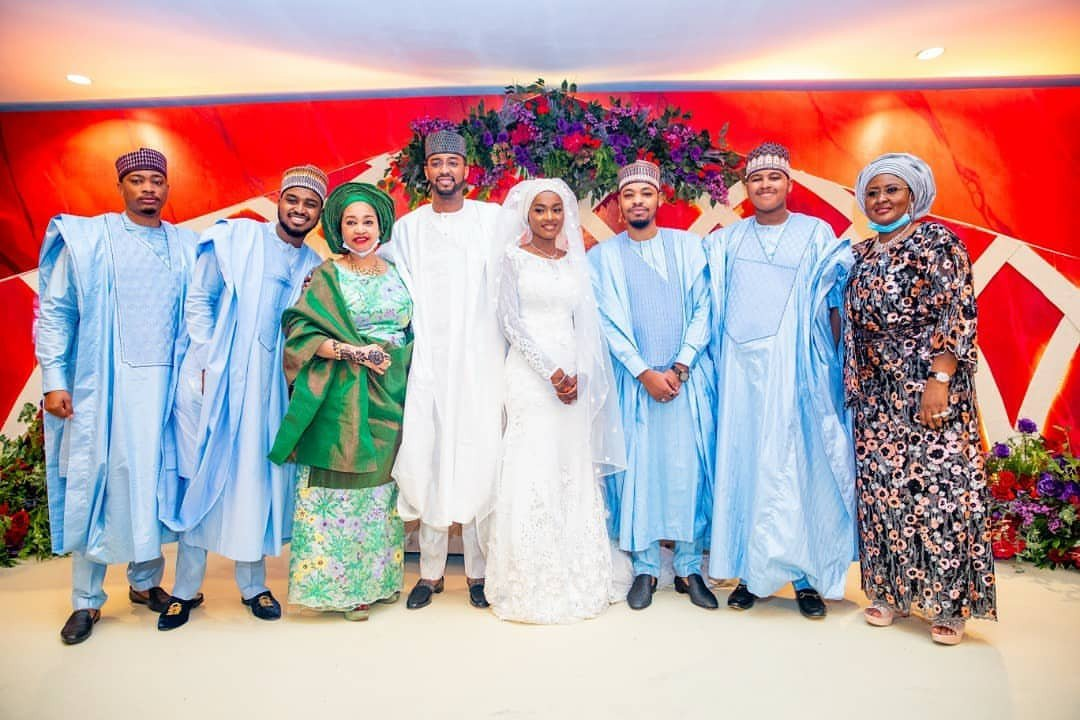 Photos from Hanan Buhari and Turad Sha'aban's wedding 31