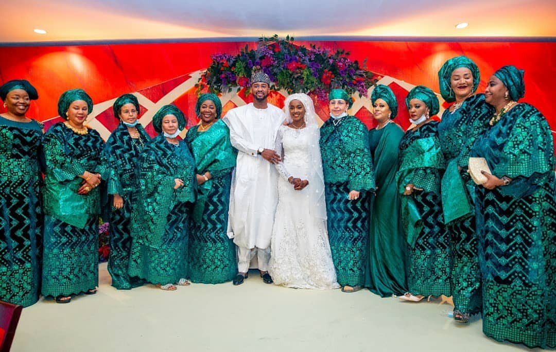 Photos from Hanan Buhari and Turad Sha'aban's wedding 30