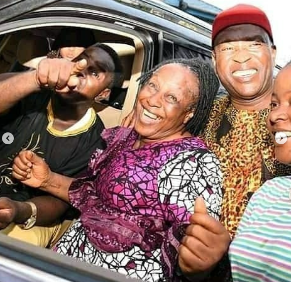 Patience Ozokwor Receives Car as Birthday Gift from her Children (Photos) 10