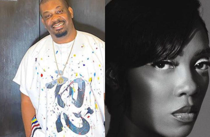 DSS reportedly questions Don Jazzy, Tiwa Savage over alleged comments against Buhari 1