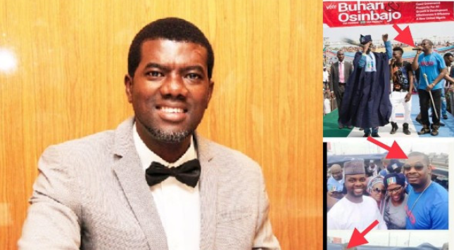 """They use you today and throw you in jail or harass you tomorrow""- Reno Omokri reacts to alleged invitation of Don Jazzy by DSS 1"