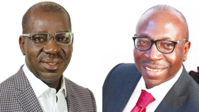 Photo of Ize-Iyamu respects me, he is like my younger brother – Obaseki