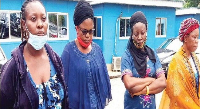 NAPTIP arrests four women for allegedly selling a newborn baby for N1.5m 1