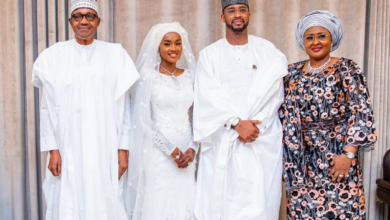 Photo of Photos from Hanan Buhari and Turad Sha'aban's wedding