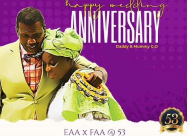 Leke Adeboye celebrates parents 53rd wedding anniversary, shades people with failed marriages 1