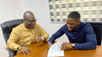 Photo of BBNaija's Tobi Bakre signs ambassadorial deal with LAWMA