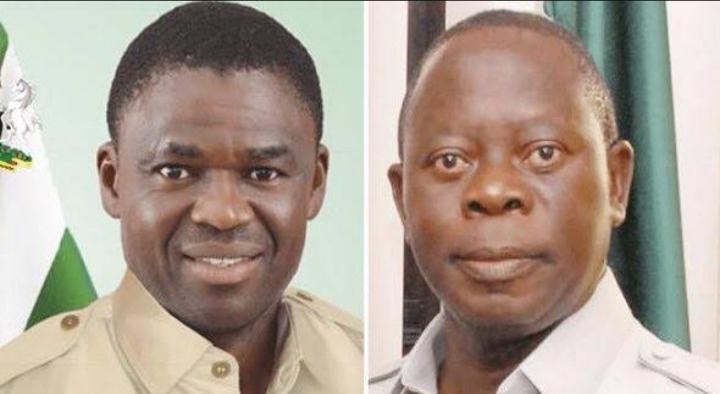 Edo Election: Oshiomhole and wife of Edo deputy Governor engage in war of words 1