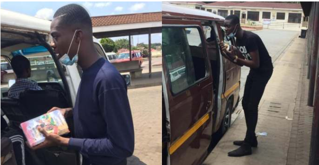 Nigerian man preaches in 21 buses to celebrate 21st birthday 1