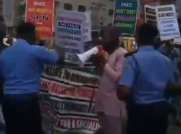 Fuel hike: Protesters arrested in Lagos 1