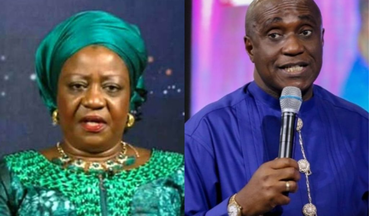Ibiyeomie and freeze clash: This is evil - Lauretta Onochie kicks against Ibiyeomie's threat, calls on the Police 1