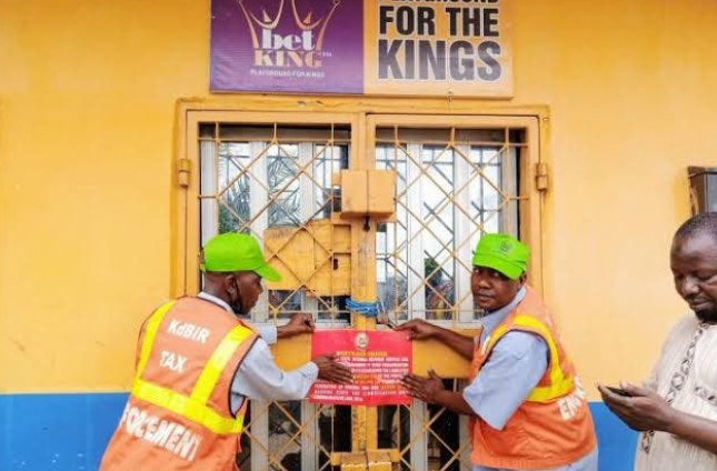 Kaduna State Government shuts down betting and gaming centers 1